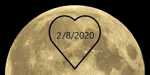 Full Moon Ceremony and Heart Chakra Meditation at SLO Botanical Garden