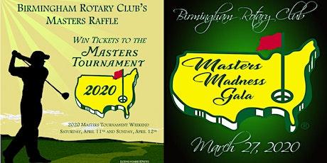 Masters Madness Gala 2020 tickets