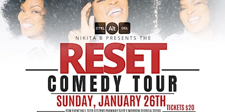 The RESET Comedy Tour tickets