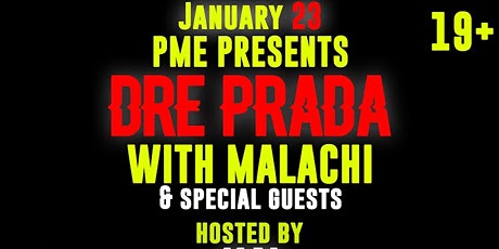 Dre Prada @Theshow tickets