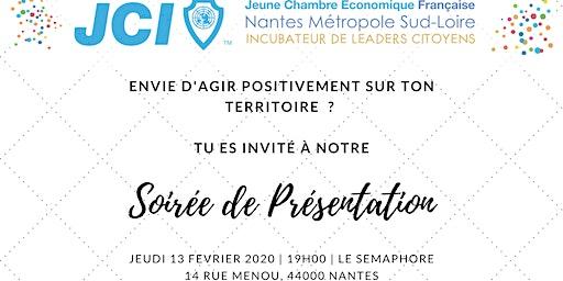 Soirée de présentation de la JCE Nantes Métropole Sud Loire
