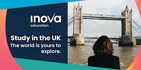 Estudia en el Reino Unido - sesión informativa, también en línea tickets