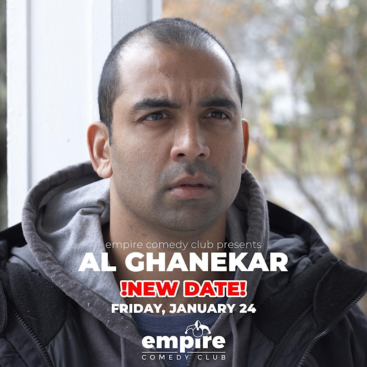 Al Ghanekar (DATE CHANGE TO FRI. 1/24)