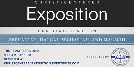 Christ-Centered Exposition Workshop 2020 tickets