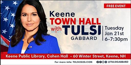 Meet Tulsi in Keene, NH