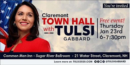Meet Tulsi Gabbard in Claremont, NH!