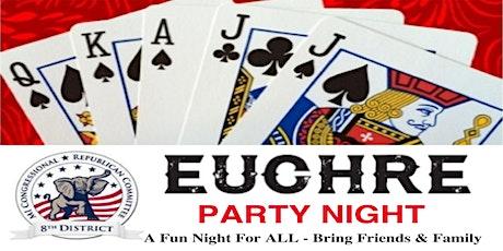 MI 8th CDRC Euchre Party tickets