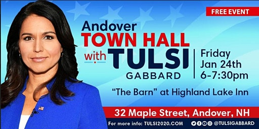 Meet Tulsi Gabbard in Andover, NH