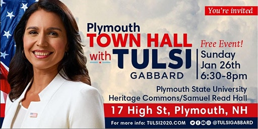 Meet Tulsi at the Plymouth State University