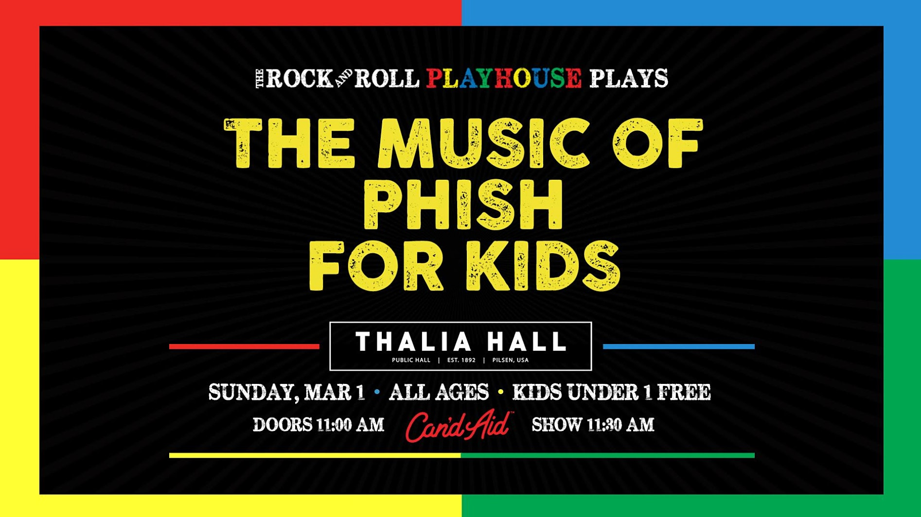 The Rock and Roll Playhouse presents the Music of Phish for Kids