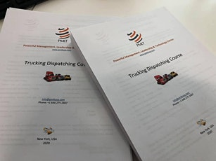Trucking Dispatching Course tickets