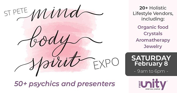 Elissa Wilds Psychic Medium Session at St. Pete  Mind, Body & Spirit Expo image