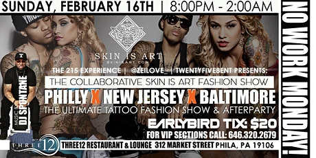 SKIN IS ART TATTO FASHION SHOW tickets