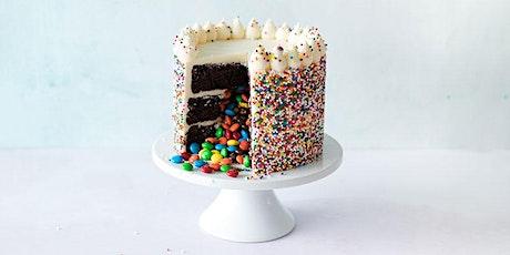 Candy Filled Confetti Cake Decorating   Saskatoon tickets