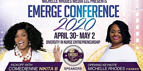 EMERGE ! 4th Annual Book Launch and Nurse Entrepreneur Conference tickets