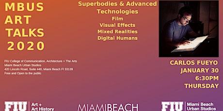 MBUS Art Talk by Carlos Fueyo tickets