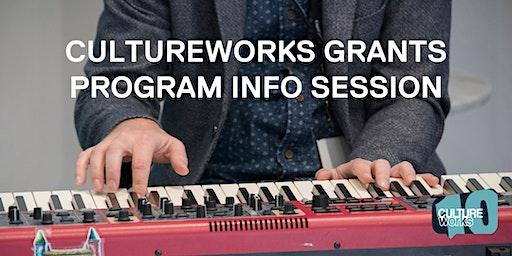 CultureWorks Grants Program Info Session - Petersburg