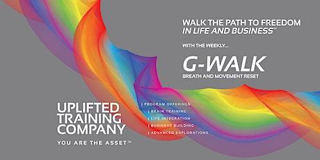 G-Walk: Weekly Breath & Movement Reset tickets