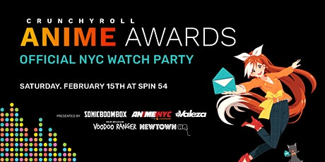 Crunchyroll Anime Awards Official NYC Watch party tickets