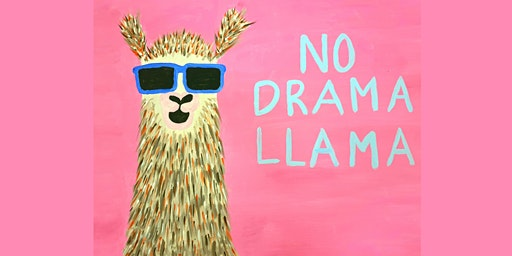 No Drama Llama - Kids Painting Class 5+