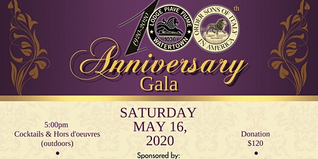 100th Anniversary Gala tickets