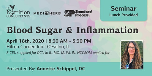 Managing Blood Sugar and Inflammation - Presented by Annette Schippel, DC