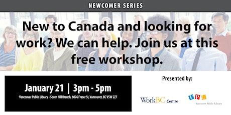 Navigating the Vancouver Job Market: A Free Career Workshop tickets