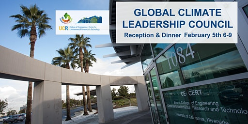 Global Climate Leadership Council Reception & Dinner