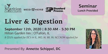Liver & Digestion - Presented by Annette Schippel, DC tickets