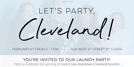 Cleveland Launch Party tickets