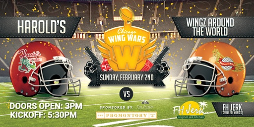 Chicago Wing Wars: Football Edition