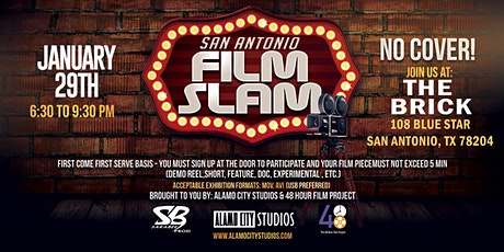 San Antonio Film Slam tickets
