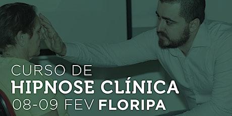 Curso de Hipnose Clínica em Florianópolis com professor Jheyson Marcilio ingressos