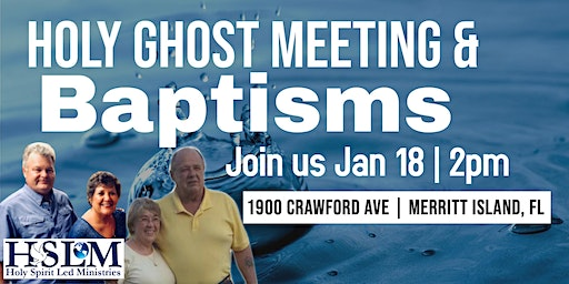 Holy Ghost Meeting & Baptisms