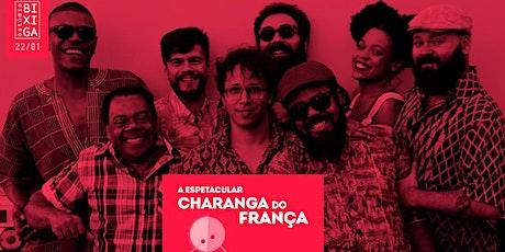22/01 - A ESPETACULAR CHARANGA DO FRANÇA NO ESTÚDIO BIXIGA // 2A EDIÇÃO ingressos