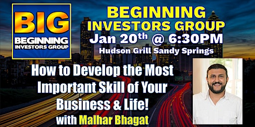 Learn the #1 Skill Needed To Have More Success in Life at BIG with Malhar Bhagat