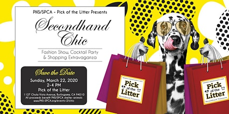 Secondhand Chic at Pick of the Litter  tickets