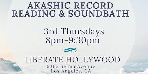 Akashic Records Reading x Sound Bath
