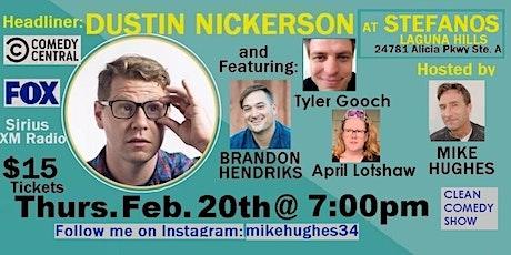 Clean Comedy Night Laguna Hills Feb. 20th 7pm tickets