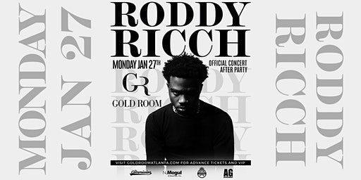 Roddy Ricch Monday Night At Gold Room