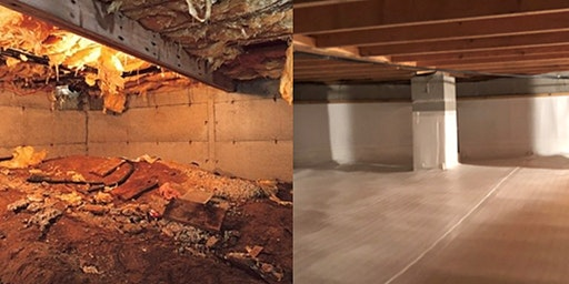 Crawlspaces Done Right | Nashville, TN