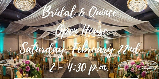 Free Wedding and Quinceañera Open House Expo in Upland, CA