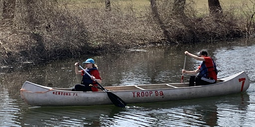 Troop 99 Canoe MB @ Parvin Park
