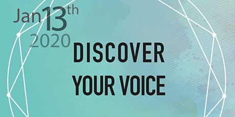 DISCOVER YOUR VOICE tickets