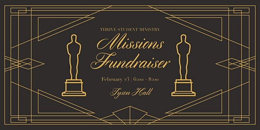 Student Ministry Missions Fundraiser