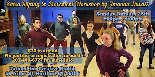 Ladies Salsa Styling & Movement Workshop by Amanda Duvall