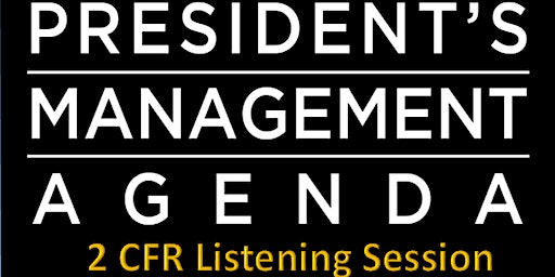 Listening Session: Proposed Revisions to Title 2 CFR (Phone Participation )