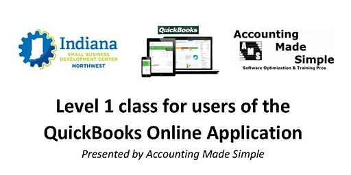Level One class for users of the QuickBooks® Online Application