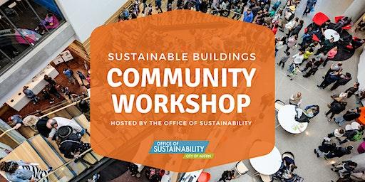 Sustainable Buildings Community Workshop