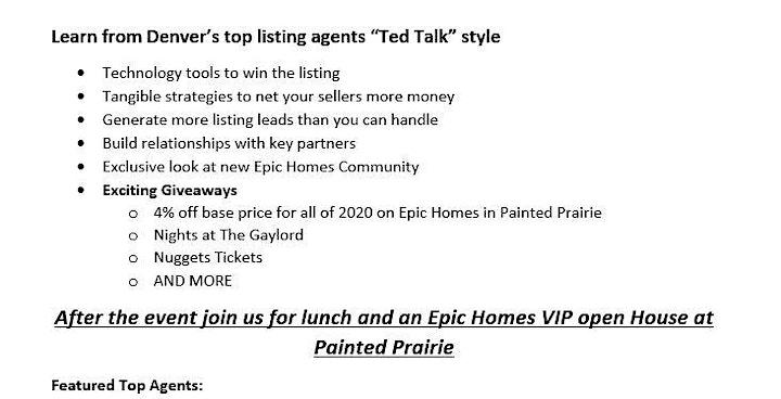 Secrets of Denver's Top Listing Agents image